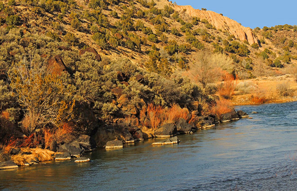 The Rio Grande near Santa Fe, New Mexico, home to Cormac McCarthy. (Photo: Nina B/Shutterstock)