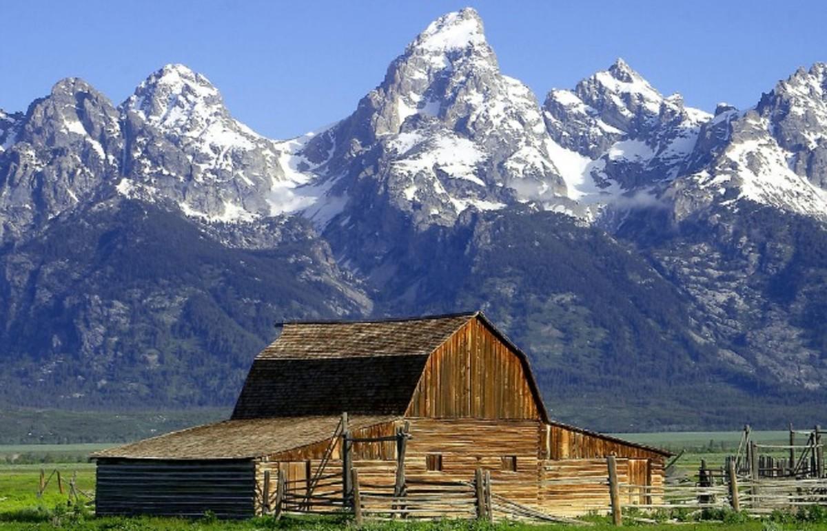 The Teton range in Wyoming. (Photo: Public Domain)