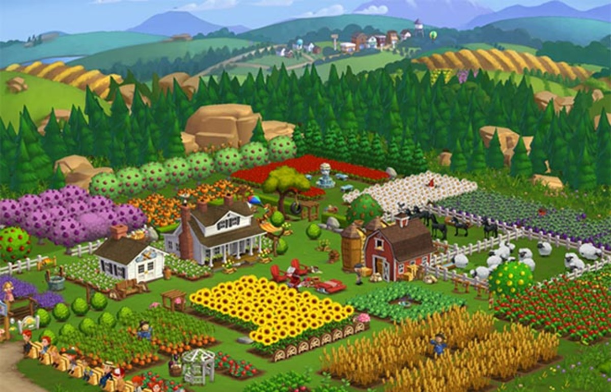 Farmville. (Photo: Zynga)