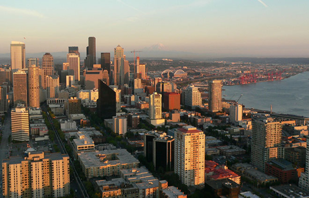 Downtown Seattle, Washington. (Photo: en:Kazamm/Wikimedia Commons)
