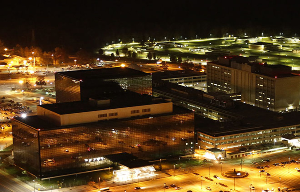 National Security Agency headquarters in Fort Meade, 2013. (Photo: Trevor Paglen/Wikimedia Commons)