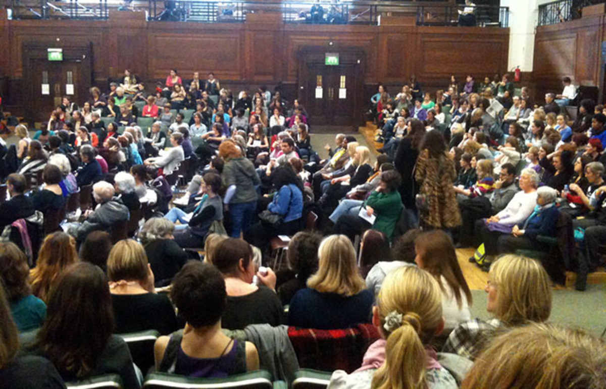 A feminism conference in London in 2010. (Photo: Beth Granter/Flickr)