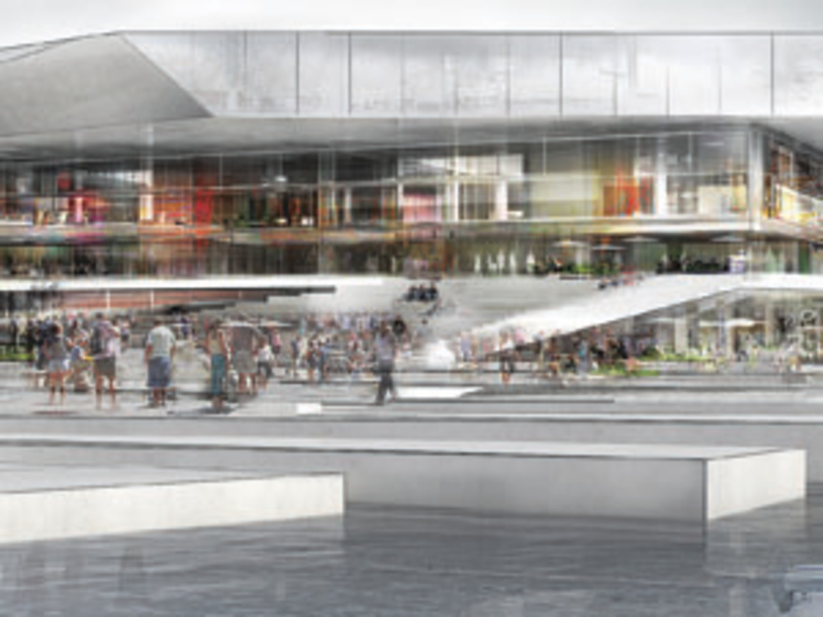 Click the image to see an architectural rendering of a library planned for Aarhus, Denmark.