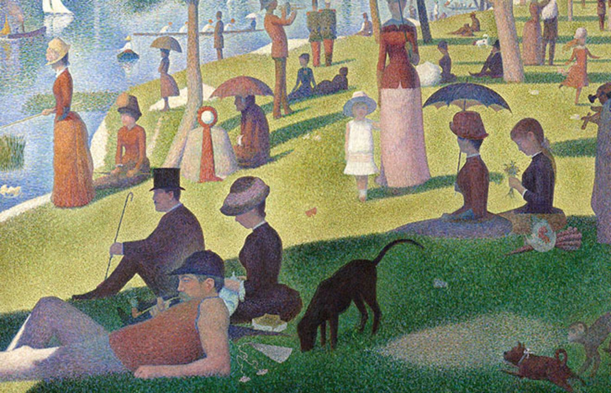 A Sunday on La Grande Jatte, Georges Seurat, 1884. (Photo: Public Domain)