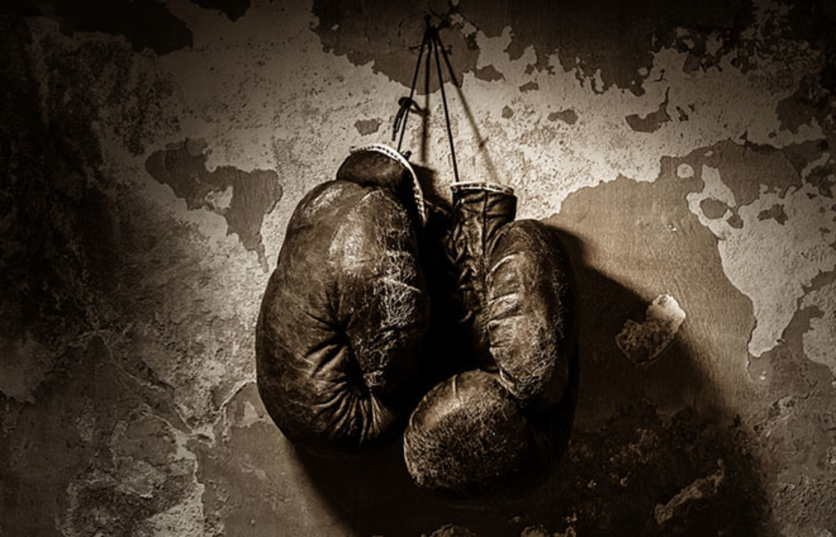 Boxing gloves. (Photo: Vasilev Evgenii/Shutterstock)