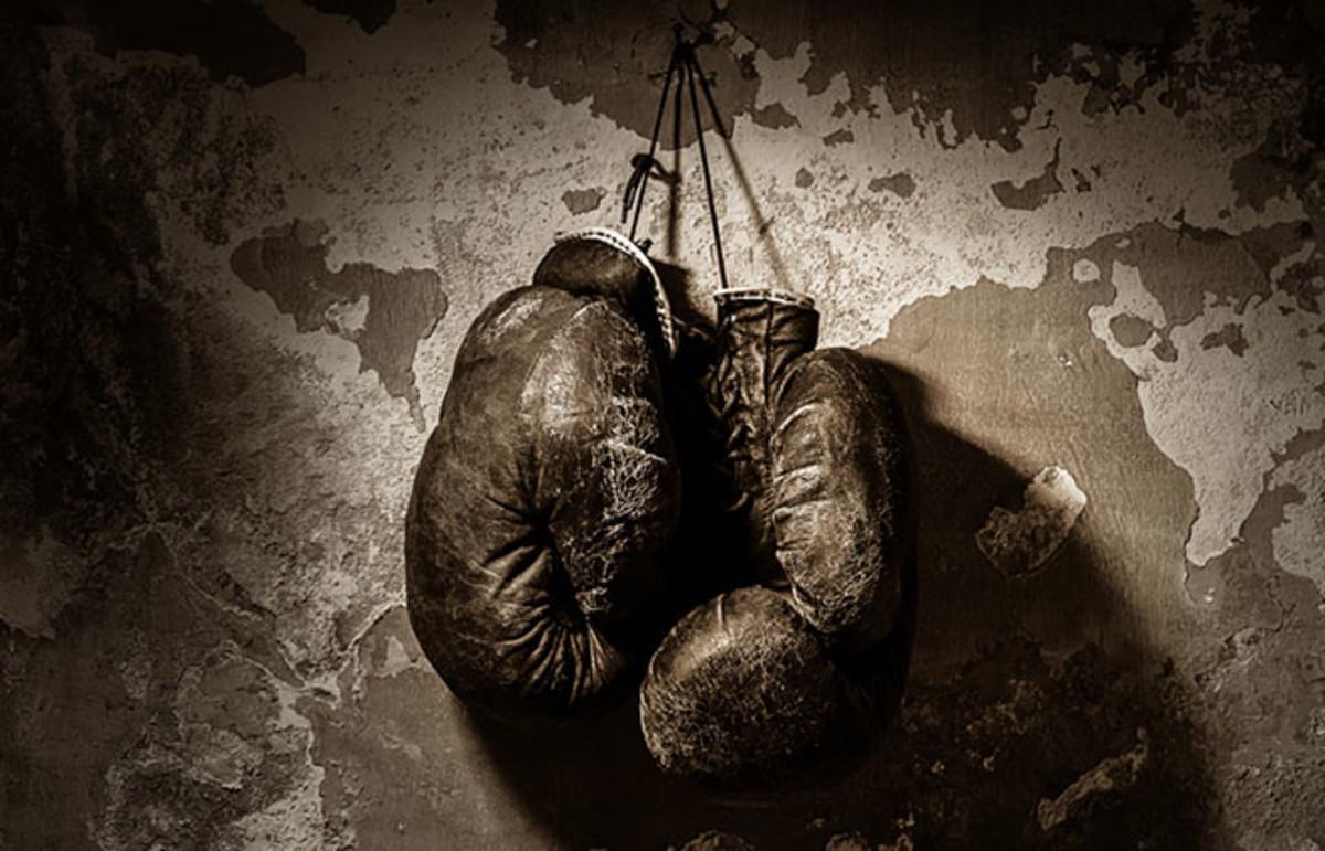 Boxing gloves. (Photo: Vasilev Evgenii/Shutterstock)