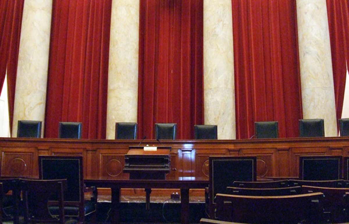The Supreme Court courtroom. (Photo: John Marino/Flickr)
