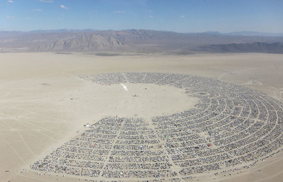 Burning Man. (Photo: Kyle Harmon/Flickr)