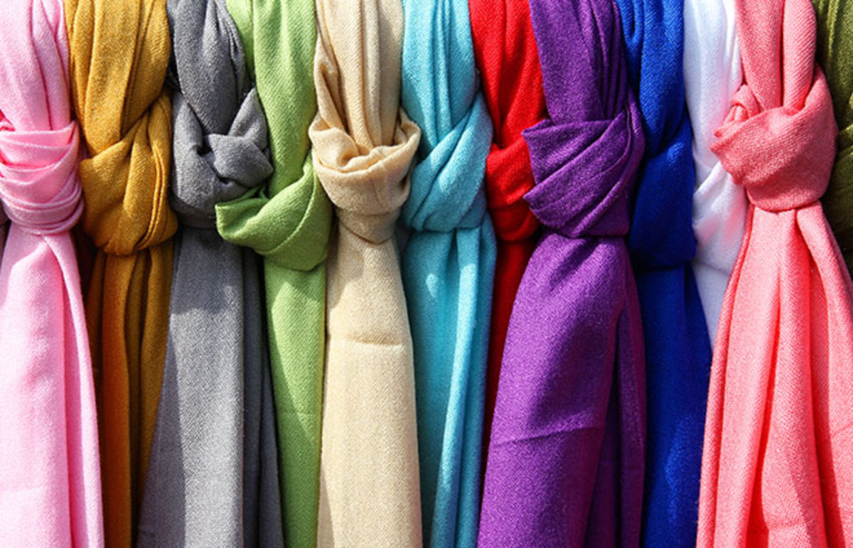 More traditional scarves. (Photo: Tupungato/Shutterstock)
