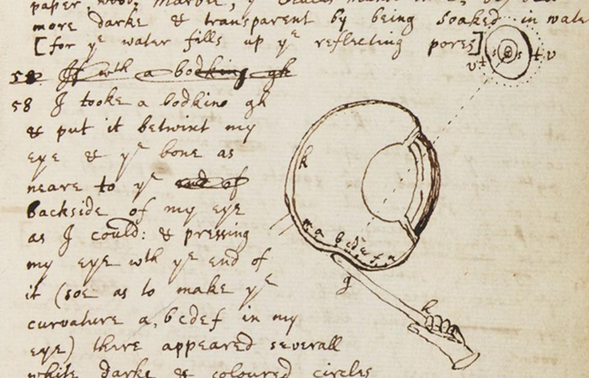 Newton's Needle: On Scientific Self-Experimentation