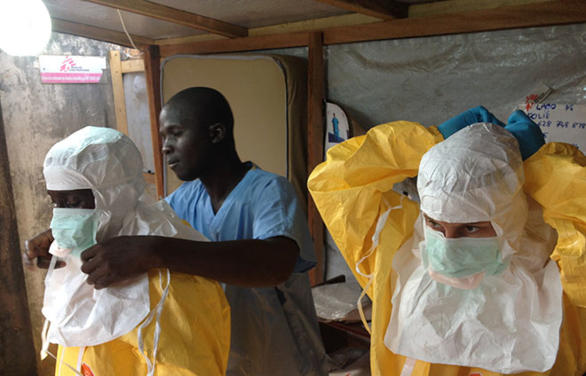Ebola in West Africa. (Photo: European Commission DG ECHO/Flickr)