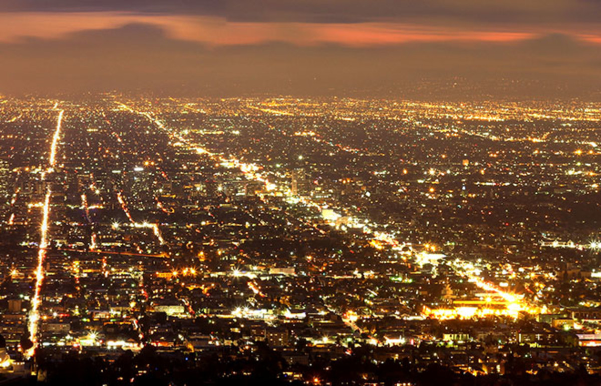 Los Angeles as seen from Griffith Park. (Photo: Kumar Appaiah/Flickr)