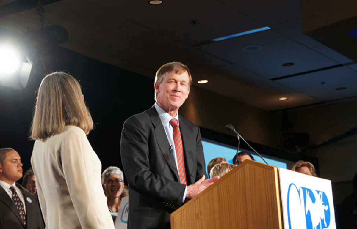 John Hickenlooper. (Photo: tales of a wandering youkai/Flickr)
