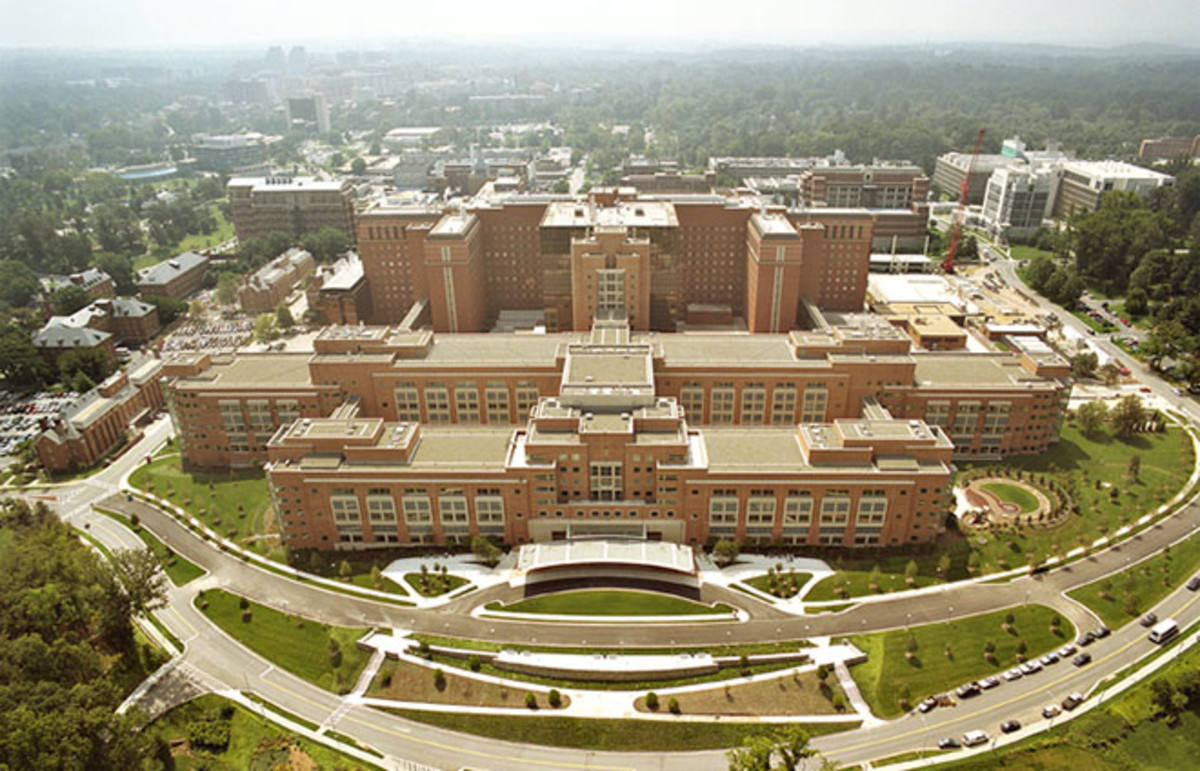 Aerial photo of the National Institutes of Health. (Photo: Public Domain)