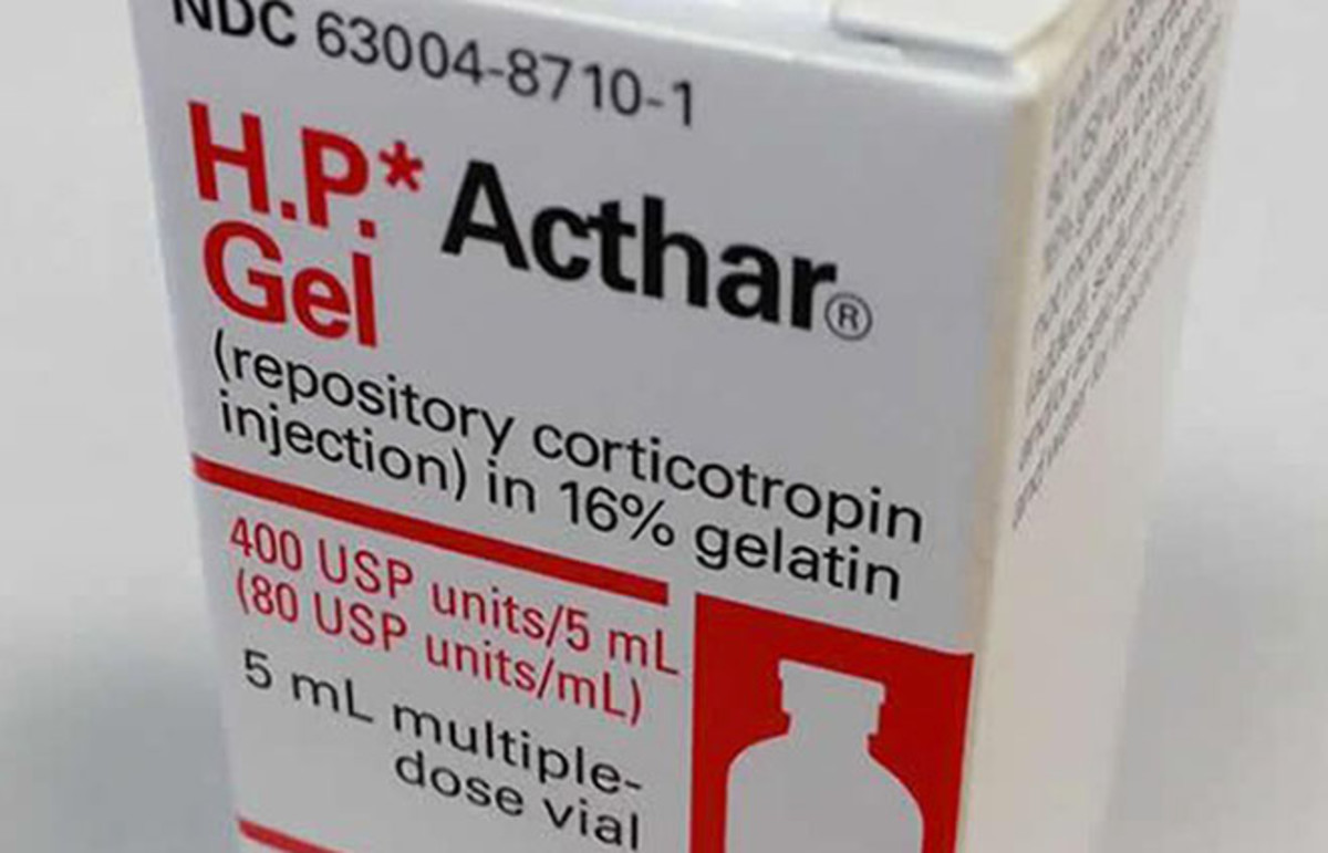Acthar Gel. (Photo: National Library of Medicine)