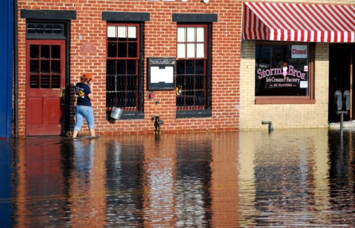Flooding in downtown Annapolis. (Photo: 29388462@N06/Flickr)
