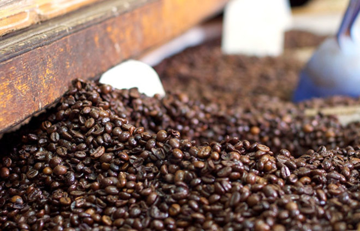 Coffee beans. (Photo: Rob Taylor/Flickr)