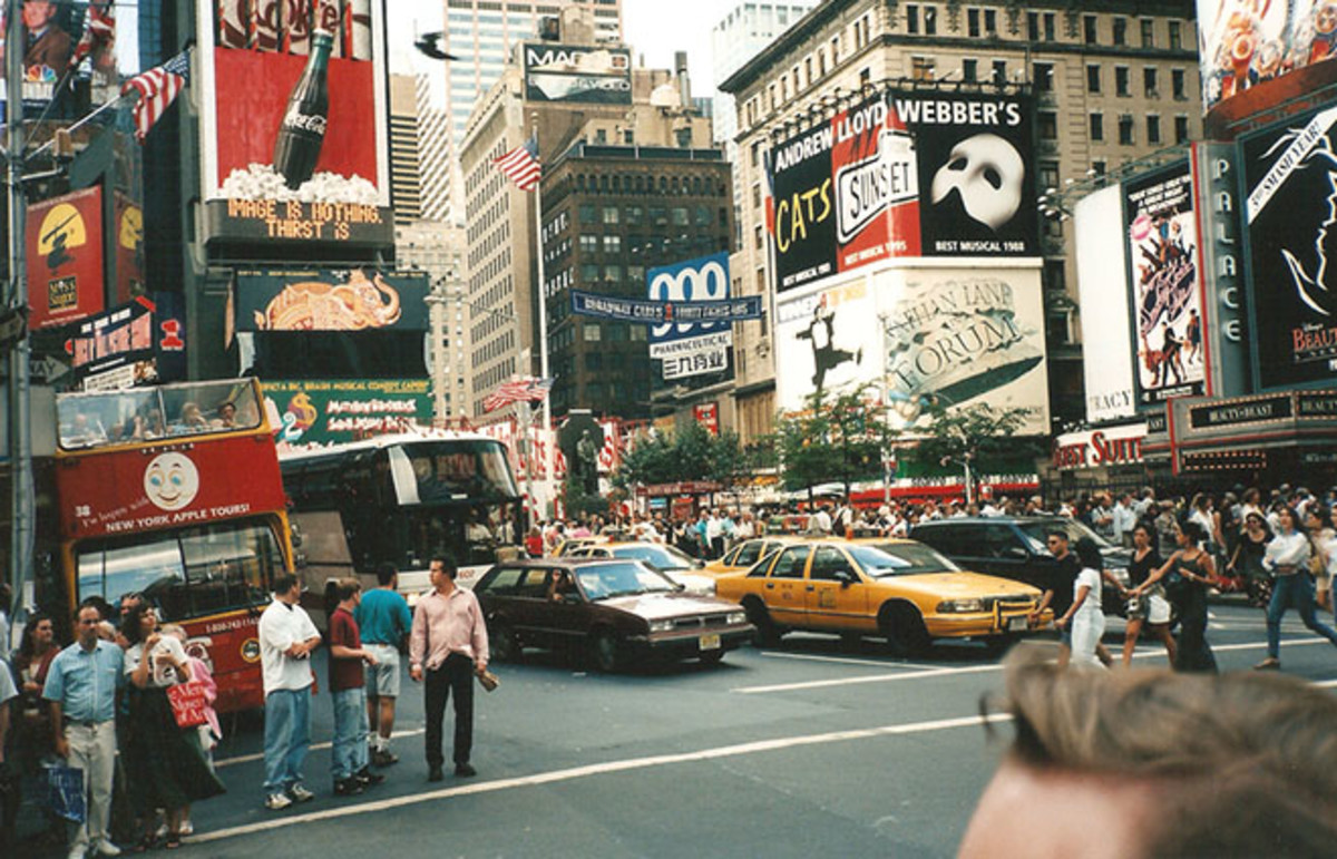 New York City, New York, 1996. (Photo: Leo-seta/Flickr)