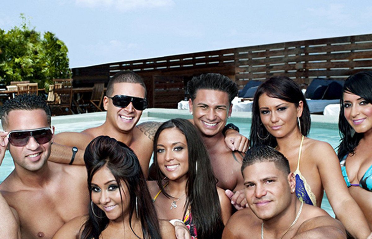 The cast of Jersey Shore. (Photo: MTV)