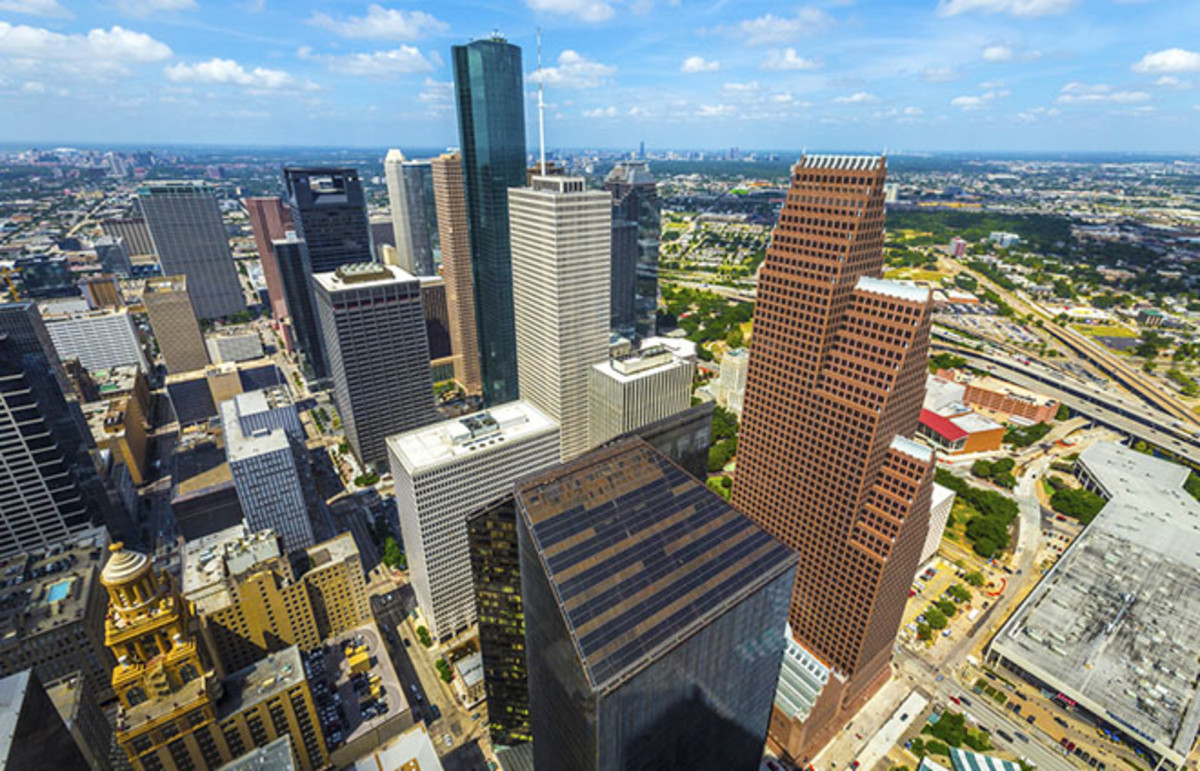 Downtown Houston, Texas. (Photo: Jorg Hackemann/Shutterstock)
