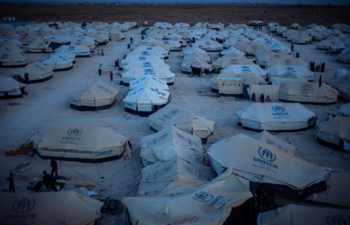 A Syrian refugee camp in Jordan. (Photo: dfid/Flickr)