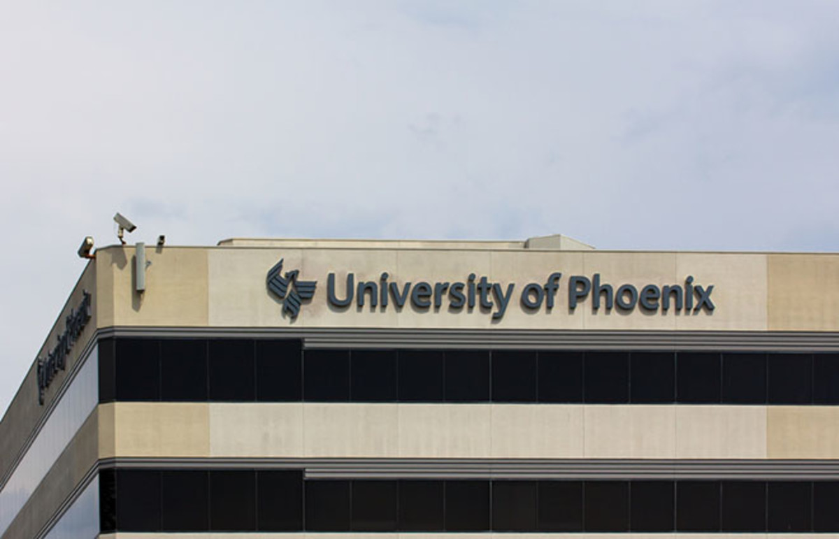 The University of Phoenix. (Photo: Ken Wolter/Shutterstock)