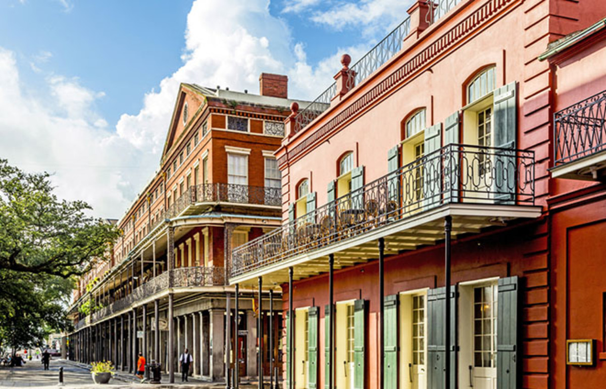 New Orleans, Louisiana. (Photo: Jorg Hackemann/Shutterstock)