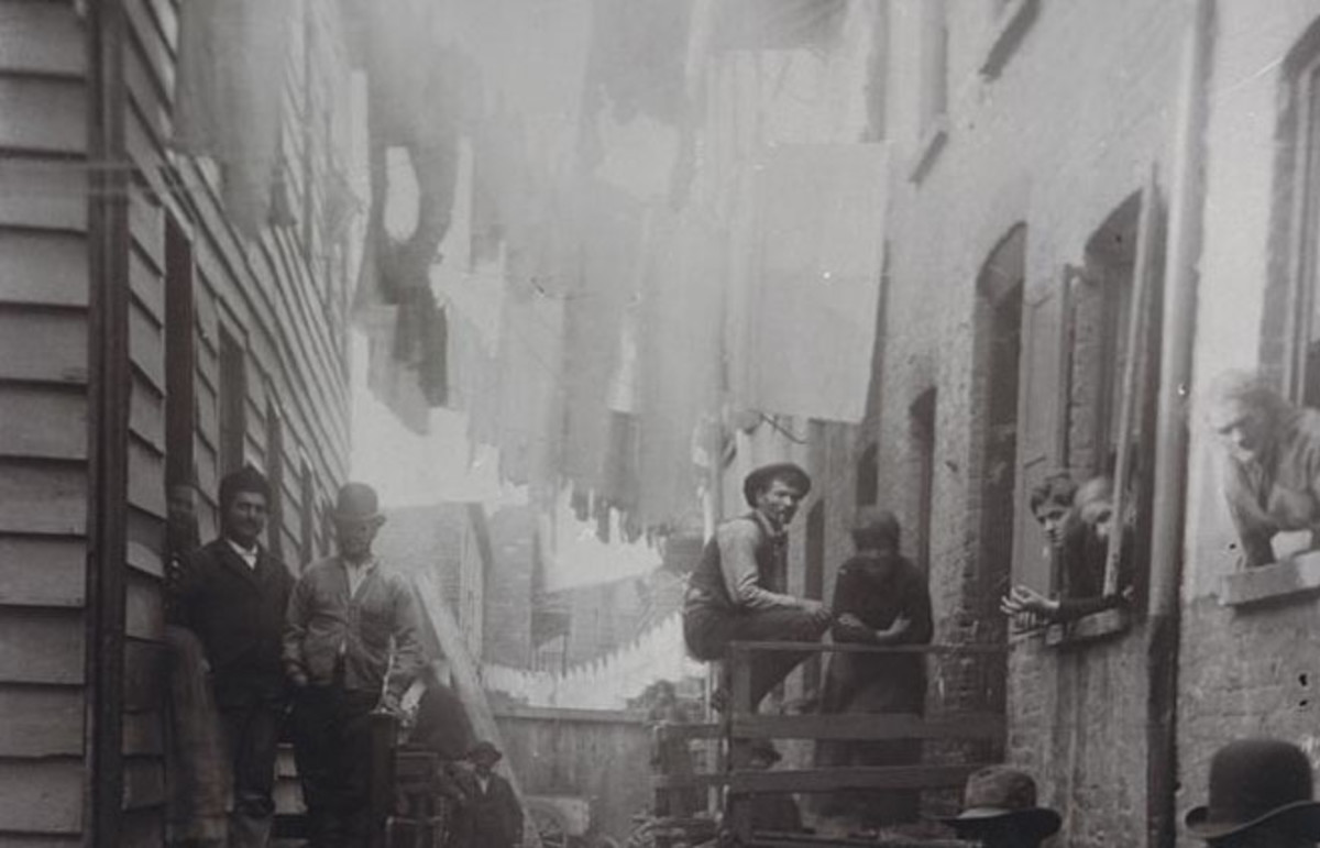 Bandit's Roost by Jacob Riis, New York, 1888. (Photo: Public Domain)