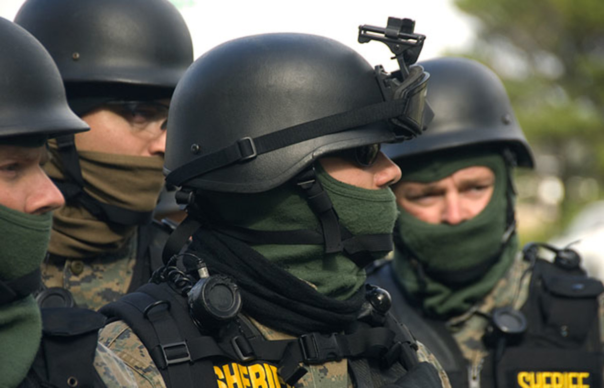 SWAT team. (Photo: Oregon Department of Transportation/Flickr)