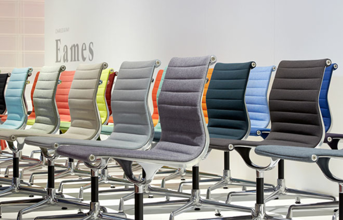 Eames chairs. (Photo: andersphoto/Shutterstock)
