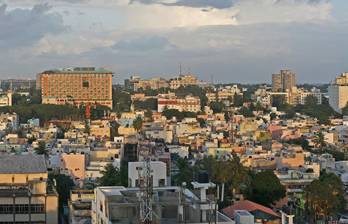 Bangalore, India. (Photo: Muhammad Mahdi Karim/Wikimedia Commons)