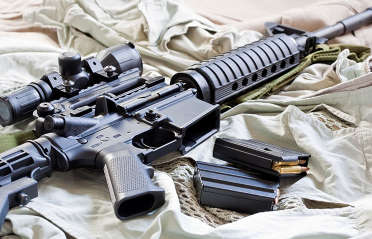 AR-15. (Photo: Eugene Berman/Shutterstock)
