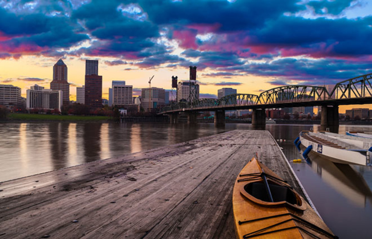 Portland, Oregon. (Photo: Josemaria Toscano/Shutterstock)