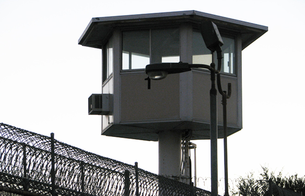 Prison guard tower. (Photo: Rennett Stowe/Flickr)