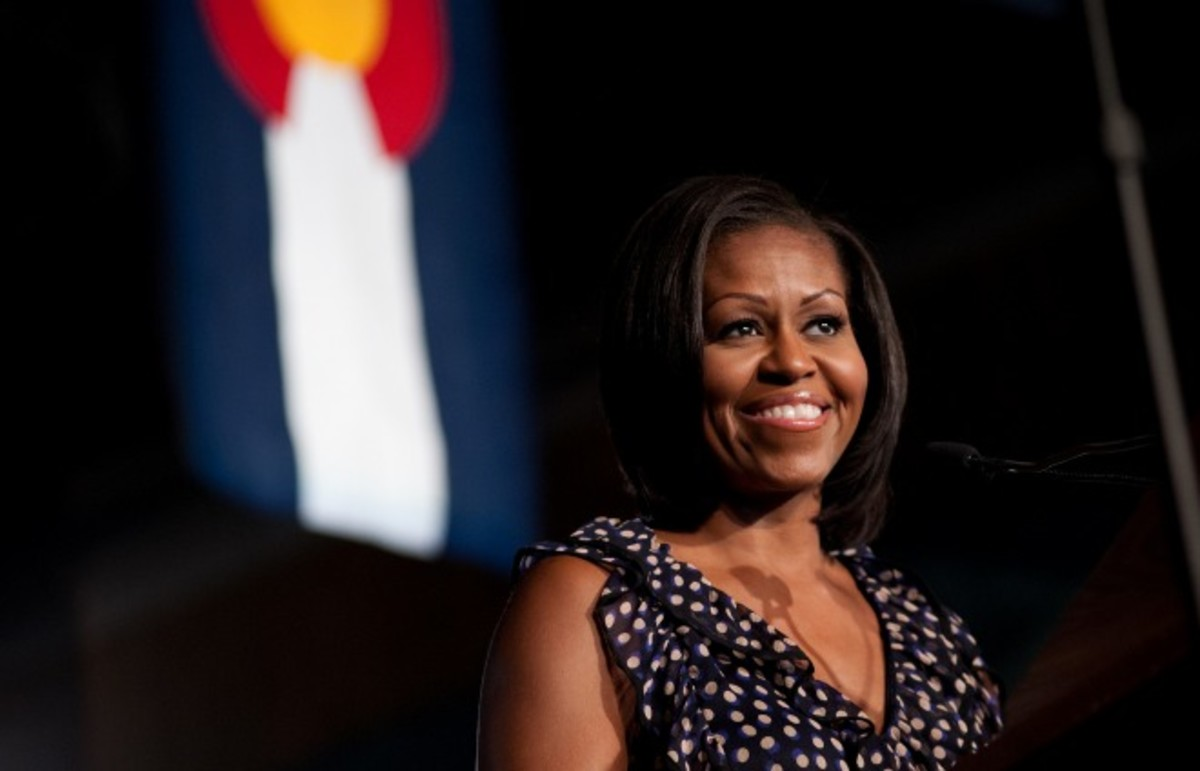 Michelle Obama. (Photo: barackobamadotcom/Flickr)