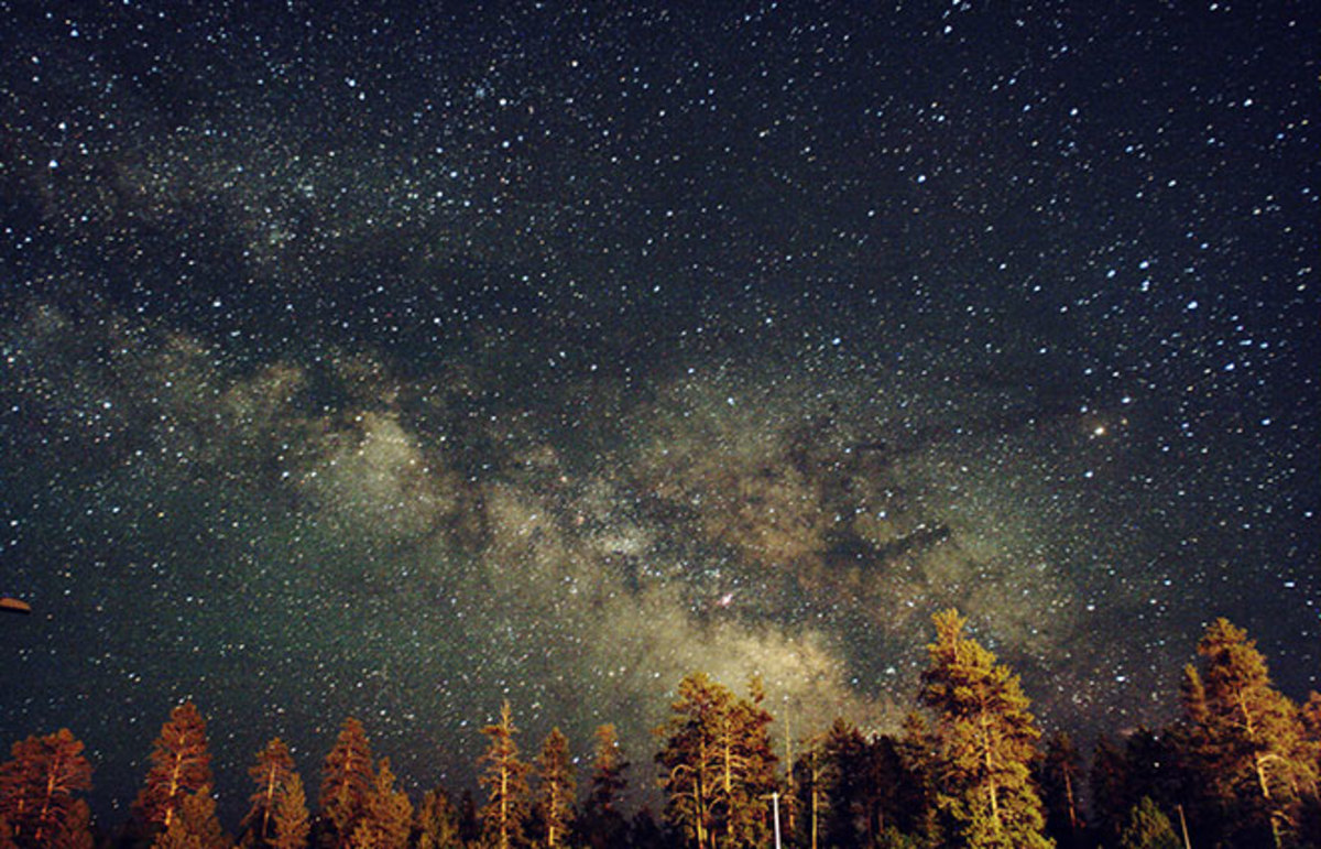 The Milky Way. (Photo: madmiked/Flickr)
