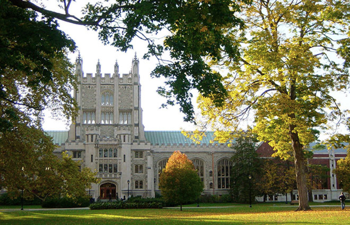 Vassar College's Thompson Library. (Photo: Noteremote/Wikimedia Commons)