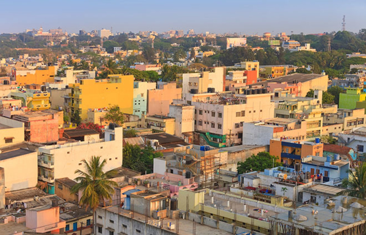Bangalore, India. (Photo: Noppasin/Shutterstock)