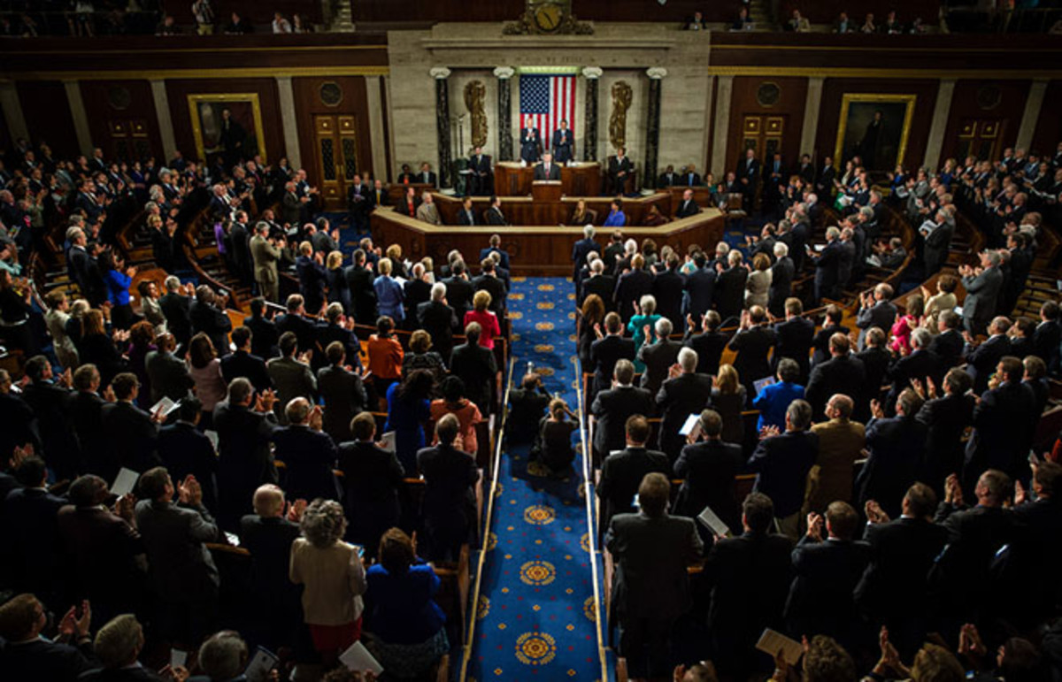 A joint session of the Senate and House of Representatives in Washington, D.C. (Photo: Mykhaylo Palinchak/Shutterstock)