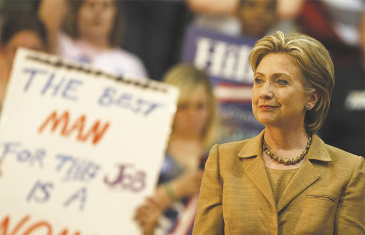 Hillary Clinton. (Photo: Robyn Beck/AFP/Getty Images)
