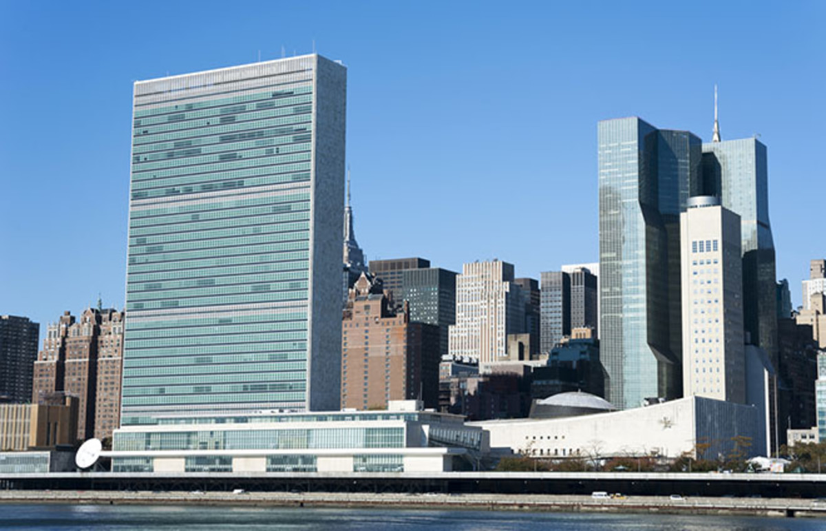 The United Nations building. (Photo: Bokic Bojan/Shutterstock)