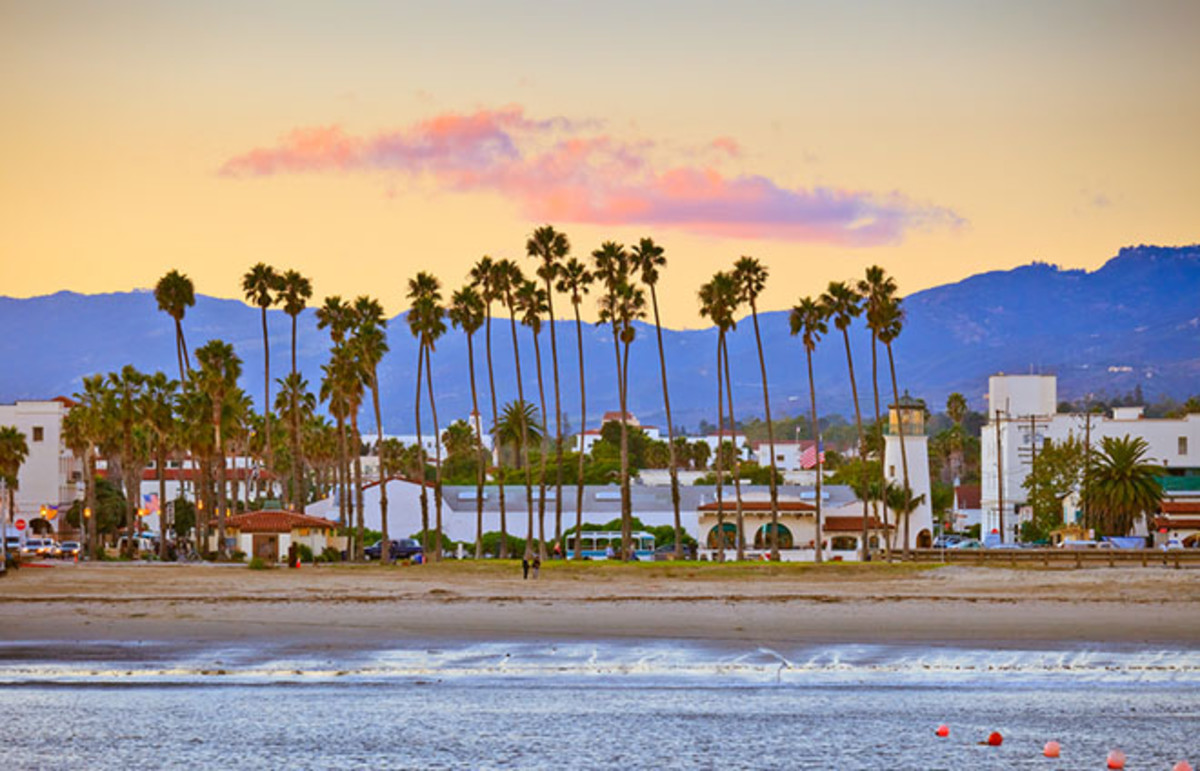 Santa Barbara, California, home to Pacific Standard. (Photo: S.Borisov/Shutterstock)