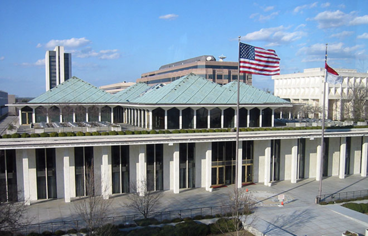 The North Carolina State Legislative Building in Raleigh. (Photo: W Edward Callis III/Wikimedia Commons)