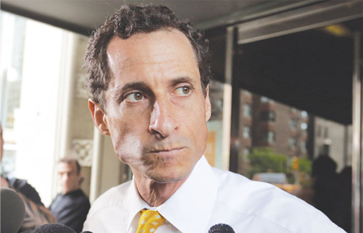 Laura Kipnis covets the 'stupid freedom' of men like Anthony Weiner. (Photo: Richard Drew/Associated Press)