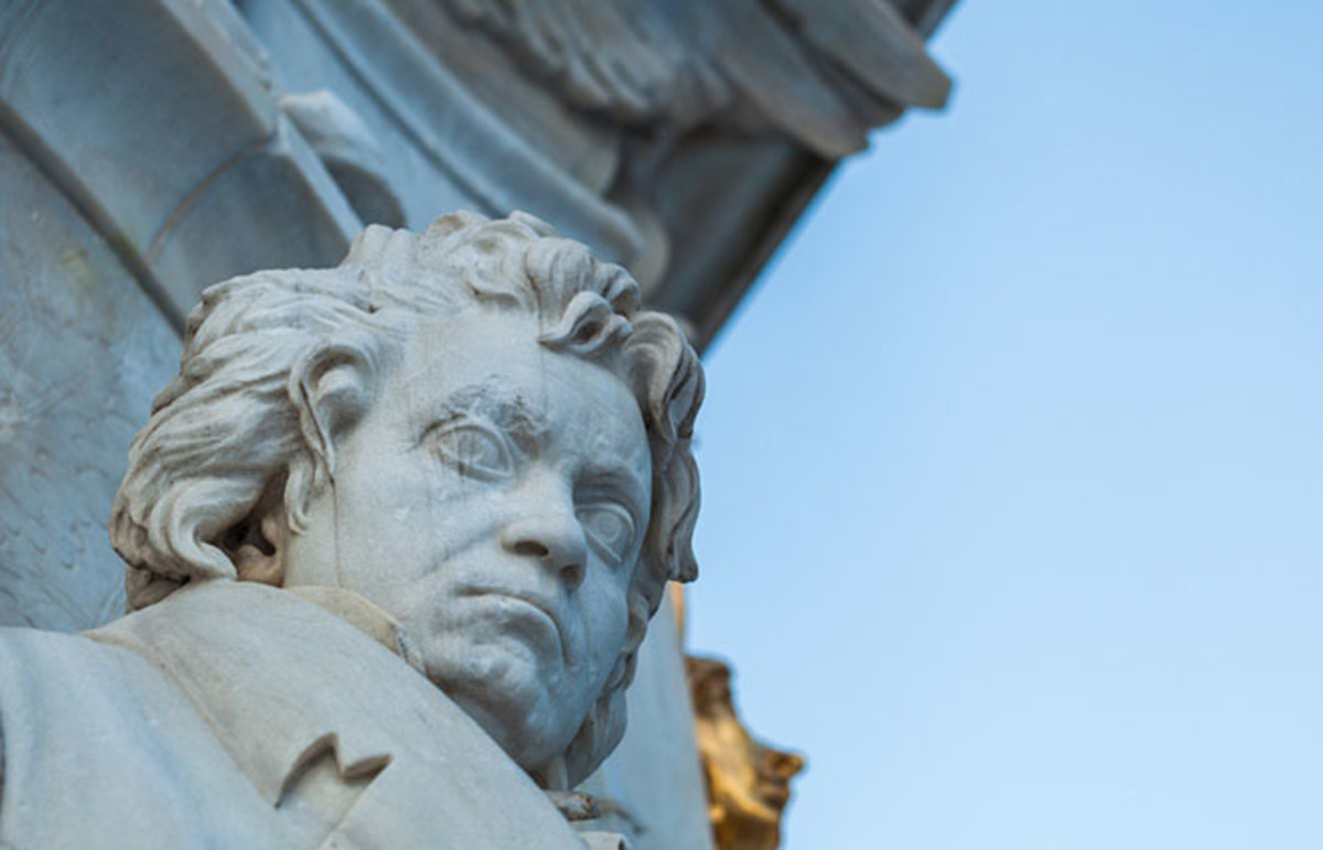 Statue of Beethoven at Beethoven-Haydn-Moz Art Memorial. (Photo: Axel Lauer/Shutterstock)