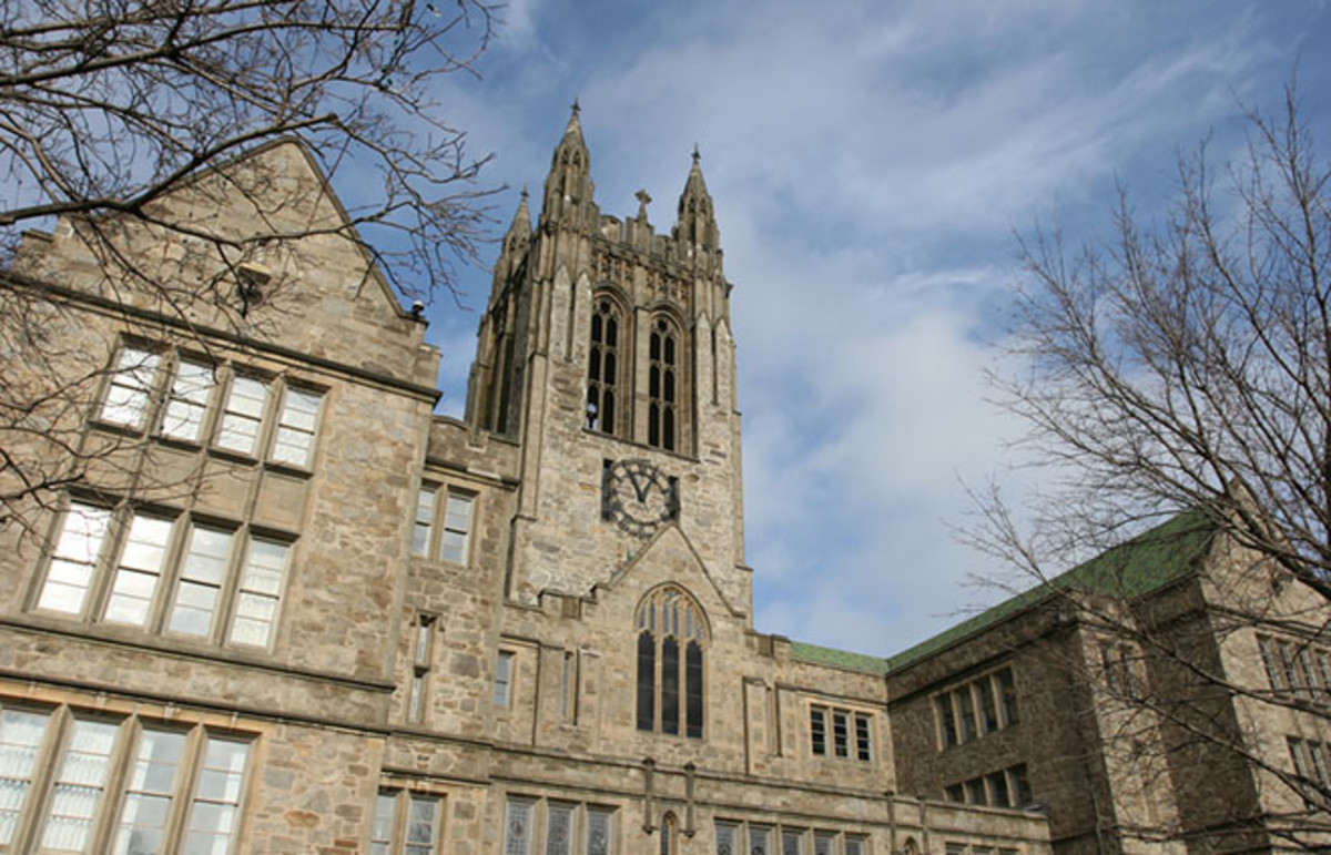 Boston College. (Photo: Zhong Chen/Shutterstock)