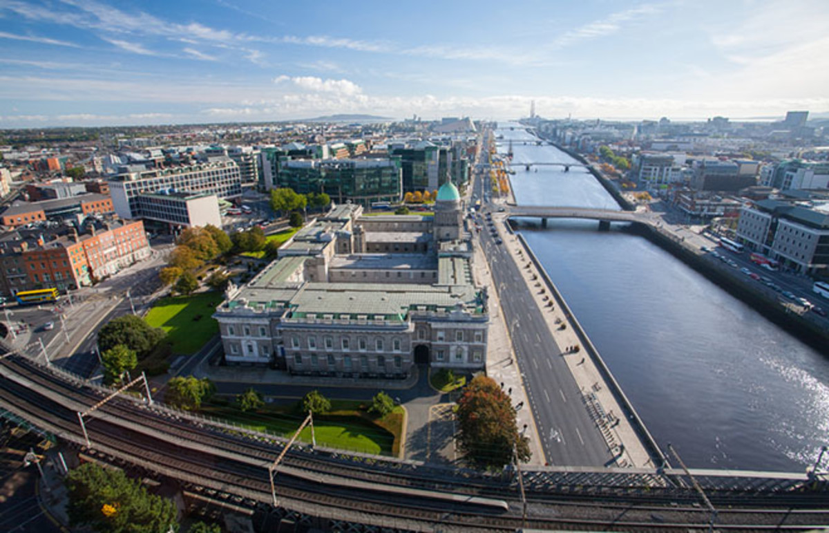 The Dublin skyline. (Photo: David Soanes/Shutterstock)