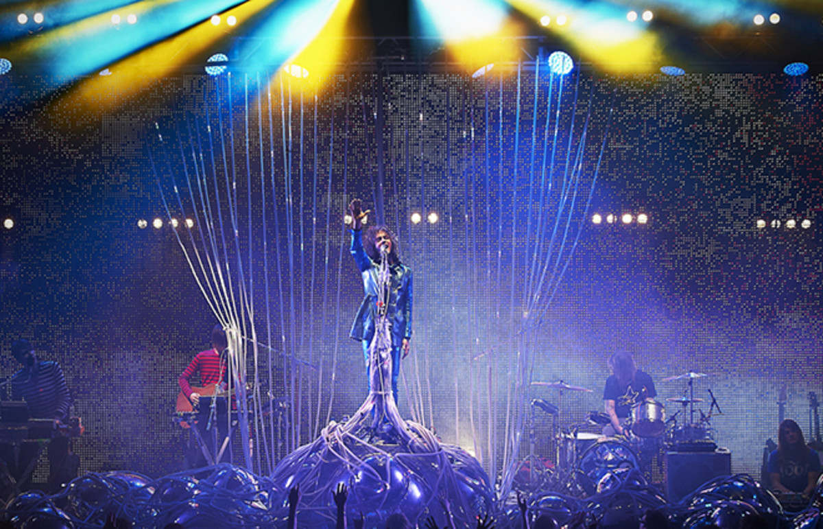 The Flaming Lips performs at The Roundhouse in London. (Photo: ROY J BARON/Shutterstock)