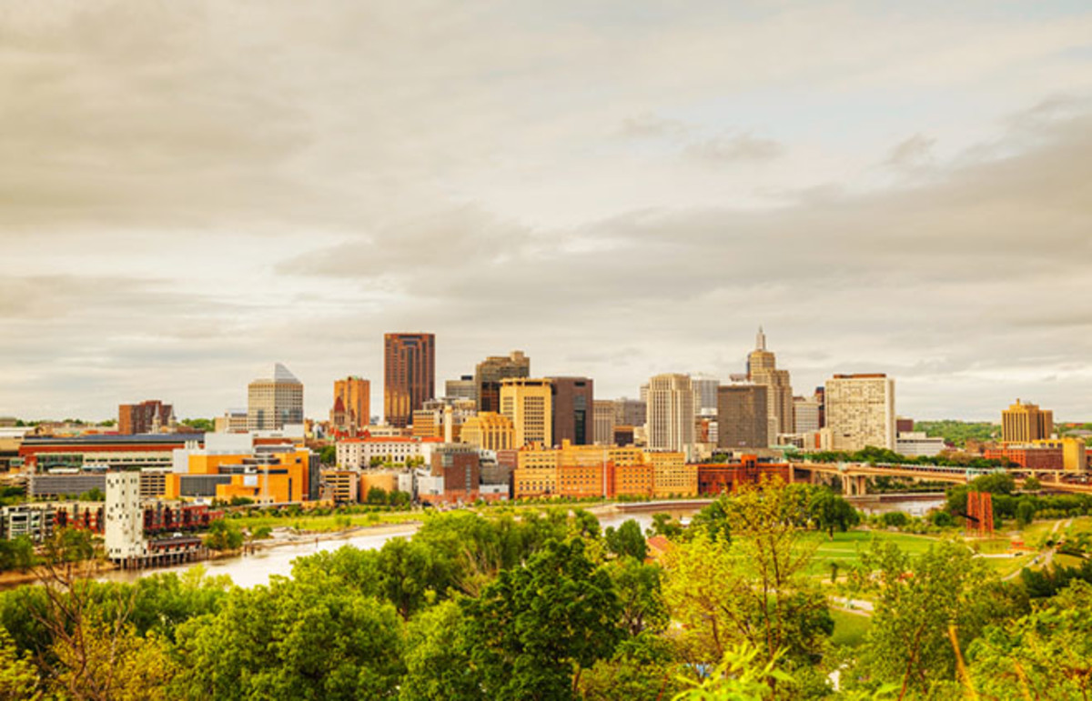 Downtown St. Paul, Minnesota. (Photo: photo.ua/Shutterstock)