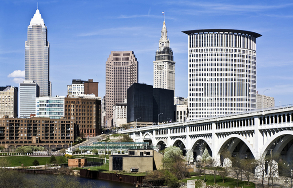 Cleveland, Ohio. (Photo: Henryk Sadura/Shutterstock)